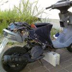 エンジンがかからないバイクの整備をしました。アドレス50