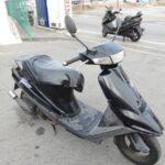 ヤフオクでバイクを衝動買いしました。 アドレスVチューン
