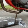 メーカー推奨方法で、ヤフオクで買ったホンダ FTR223のオイル交換をしました。