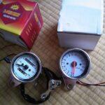 ホンダ FTR223 スピード、タコ メーター 取り付け作業