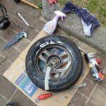 DIYタイヤ交換決定版!我流、バイクタイヤのビート上げ極意教えます。