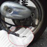 スピードメーターが動かなくなる原因と修理。ワイヤー交換 ヤマハ ビーノ